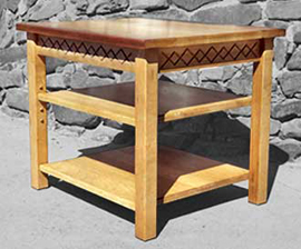 End Table from Sugar Pine