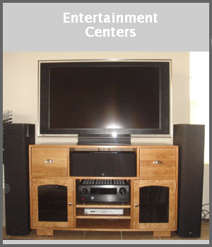 Entertainment Centers, TV Stands, Audio Equipment Cabinets