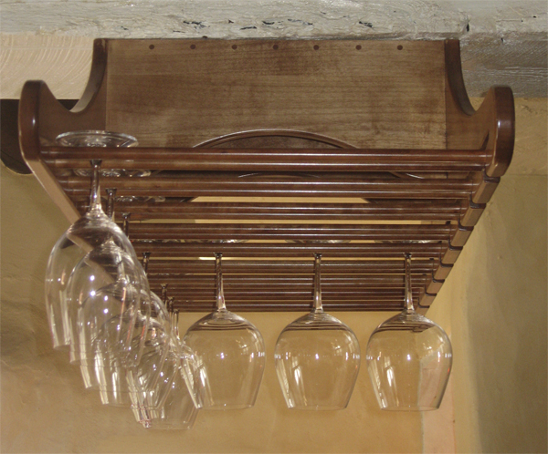 Stem Glass Rack Side View